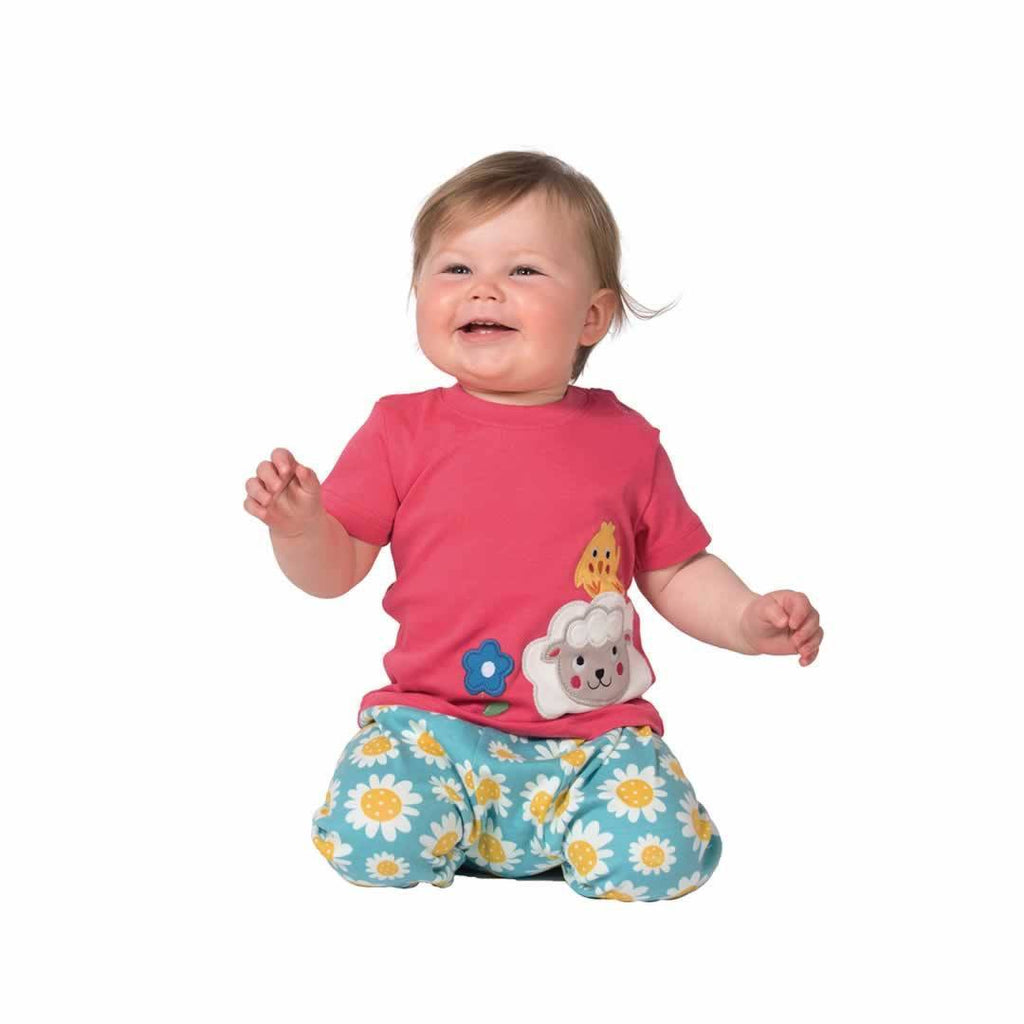 Frugi Parsnip Pants Sunflowers Lifestyle
