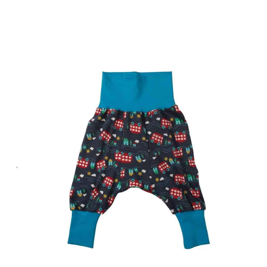 Frugi Parsnip Pants in Wheels on the Bus