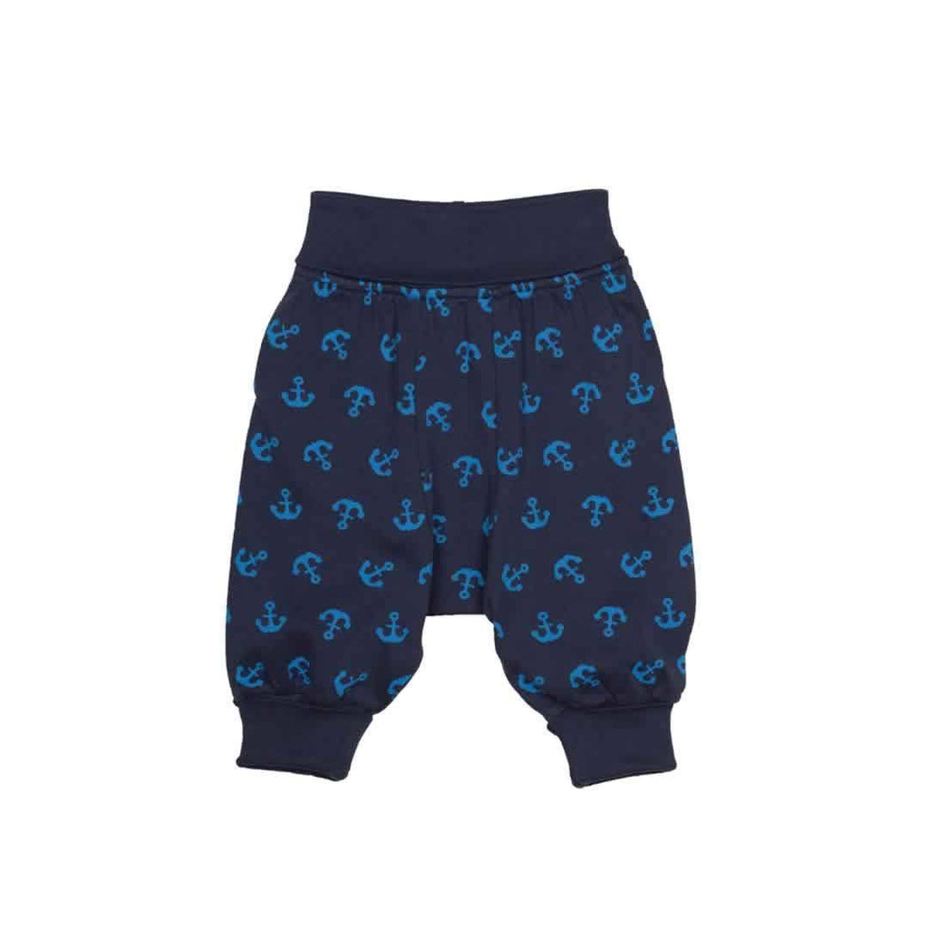 Frugi Parsnip Pants in Navy Anchor