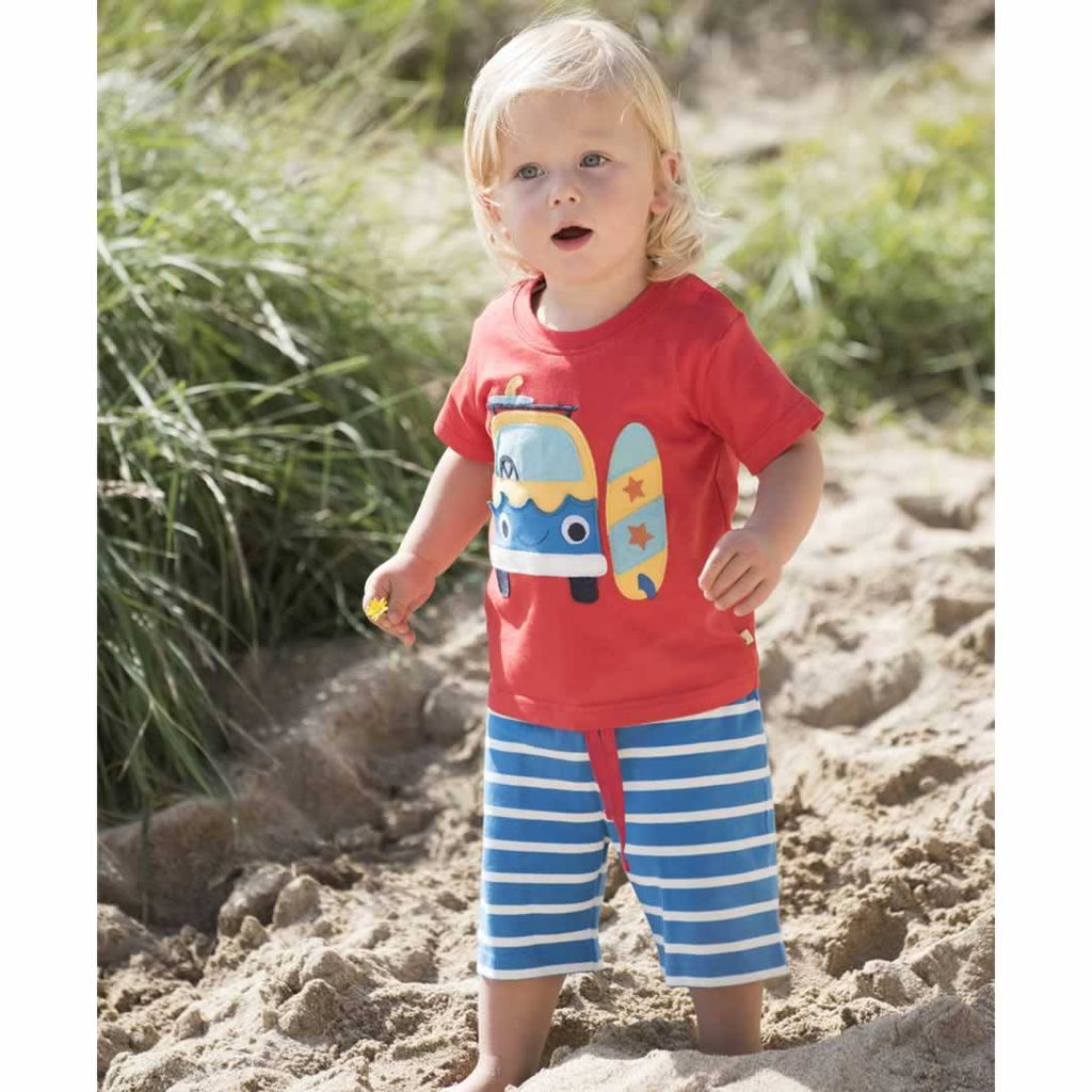 Frugi Porthleven Outfit Tomato/Camper Lifestyle