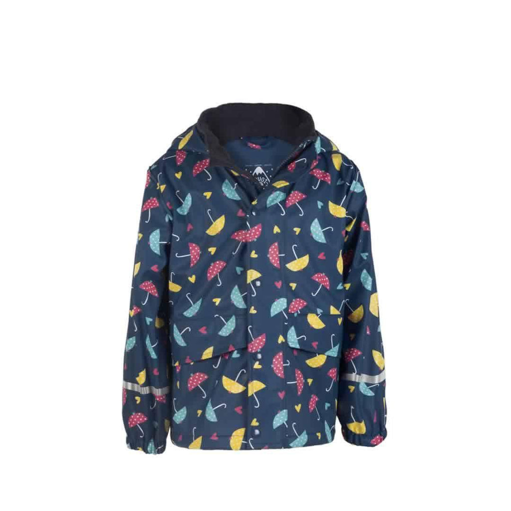 Frugi Puddle Buster Coat in Spotty Brollies