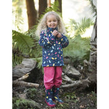 Frugi Puddle Buster Coat - Spotty Brollies Lifestyle