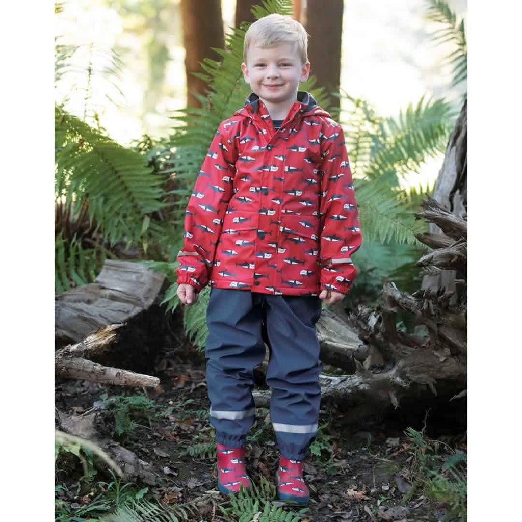 Frugi Puddle Buster Wellington Boots - Hungry Sharks Lifestyle