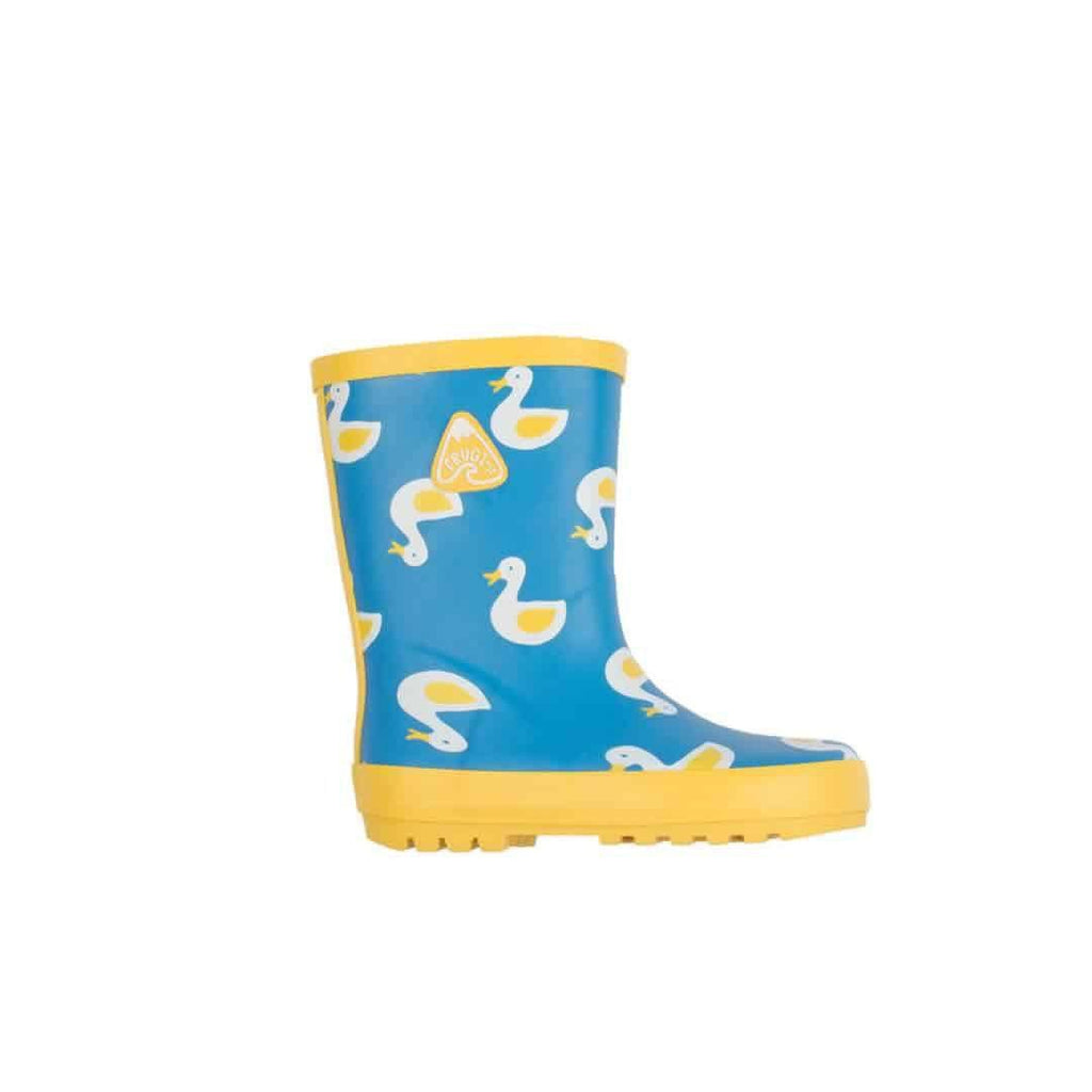 Frugi Puddle Buster Wellington Boots in Puddle Ducks
