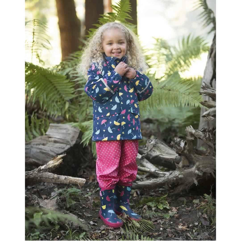 Frugi Puddle Buster Wellington Boots - Spotty Brollies Lifestyle