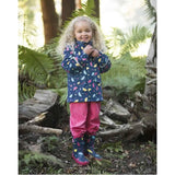 Frugi Puddle Buster Wellington Boots - Spotty Brollies - Boots - Natural Baby Shower