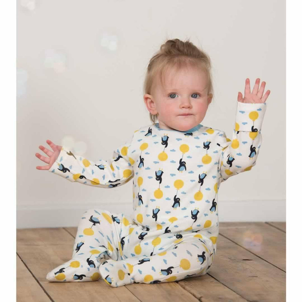 Frugi Scrumptious Babygrow 2 Pack - Up and Away Lifestyle