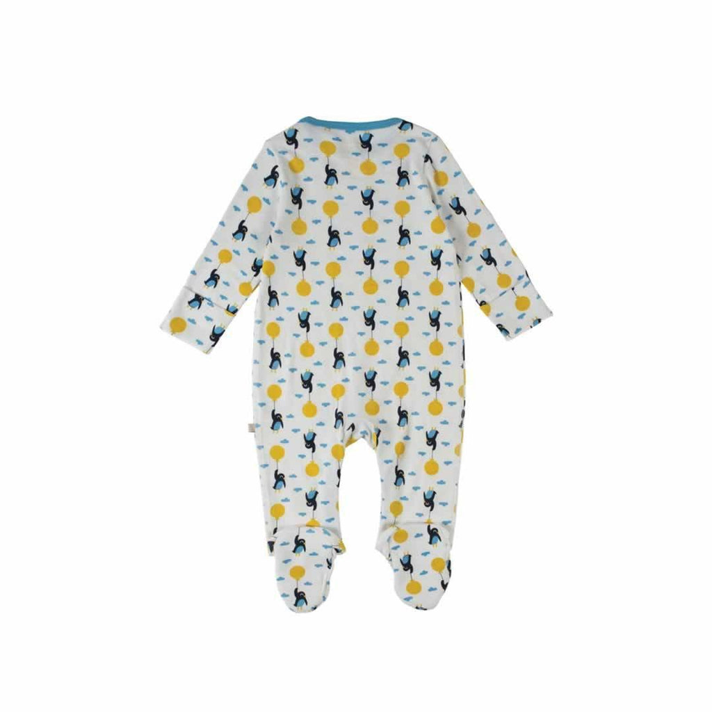 Frugi Scrumptious Babygrow 2 Pack - Up and Away Back