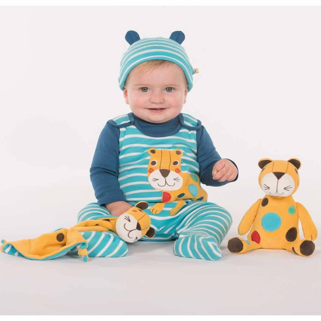 Frugi Snuggle Baby Gift Set - Cornish Sea Breton/Leopard Lifestyle