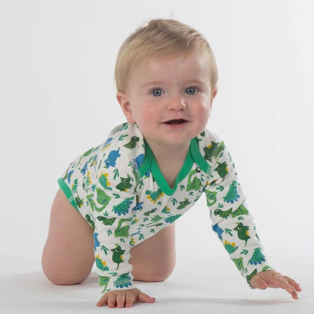 Frugi Special Bodies - Dinos - 3 Pack Lifestyle