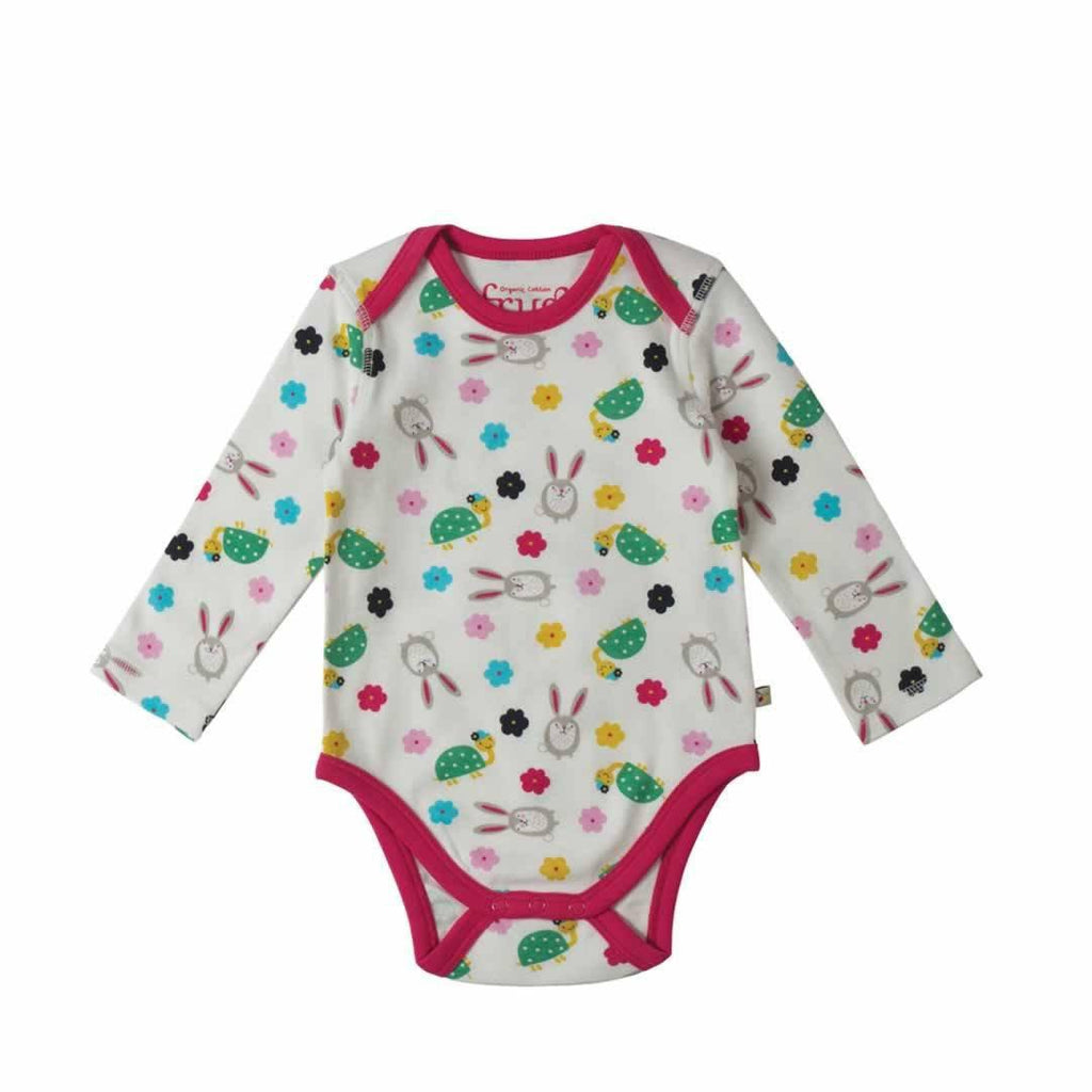 Frugi Special Bodies Hare and Tortoise 3 Pack