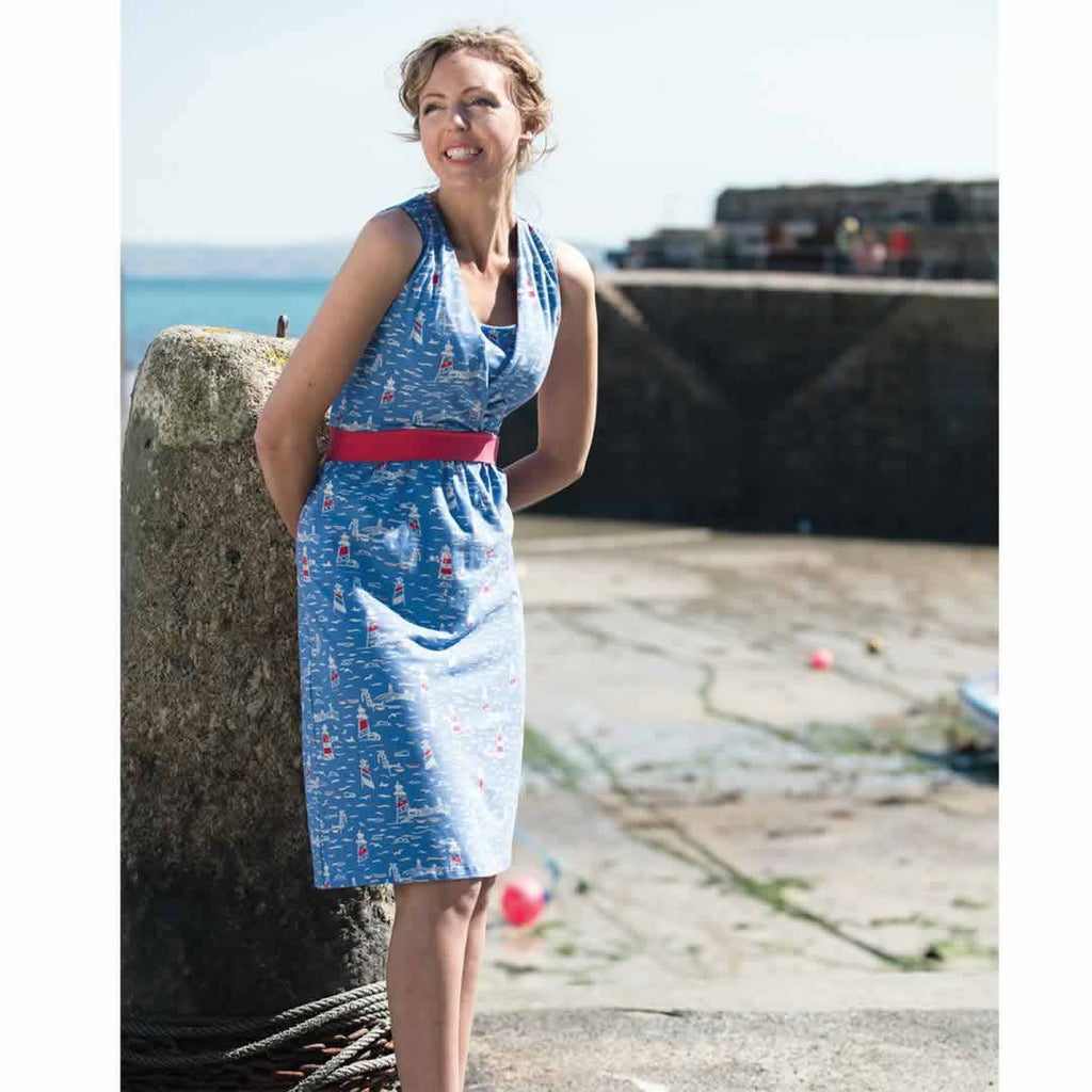 Frugi Summer Tie Dress - Lighthouses Lifestyle