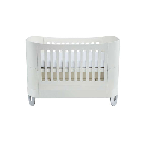 Gaia Baby Serena Complete Sleep Baby Bed - White-Cot Beds- Natural Baby Shower