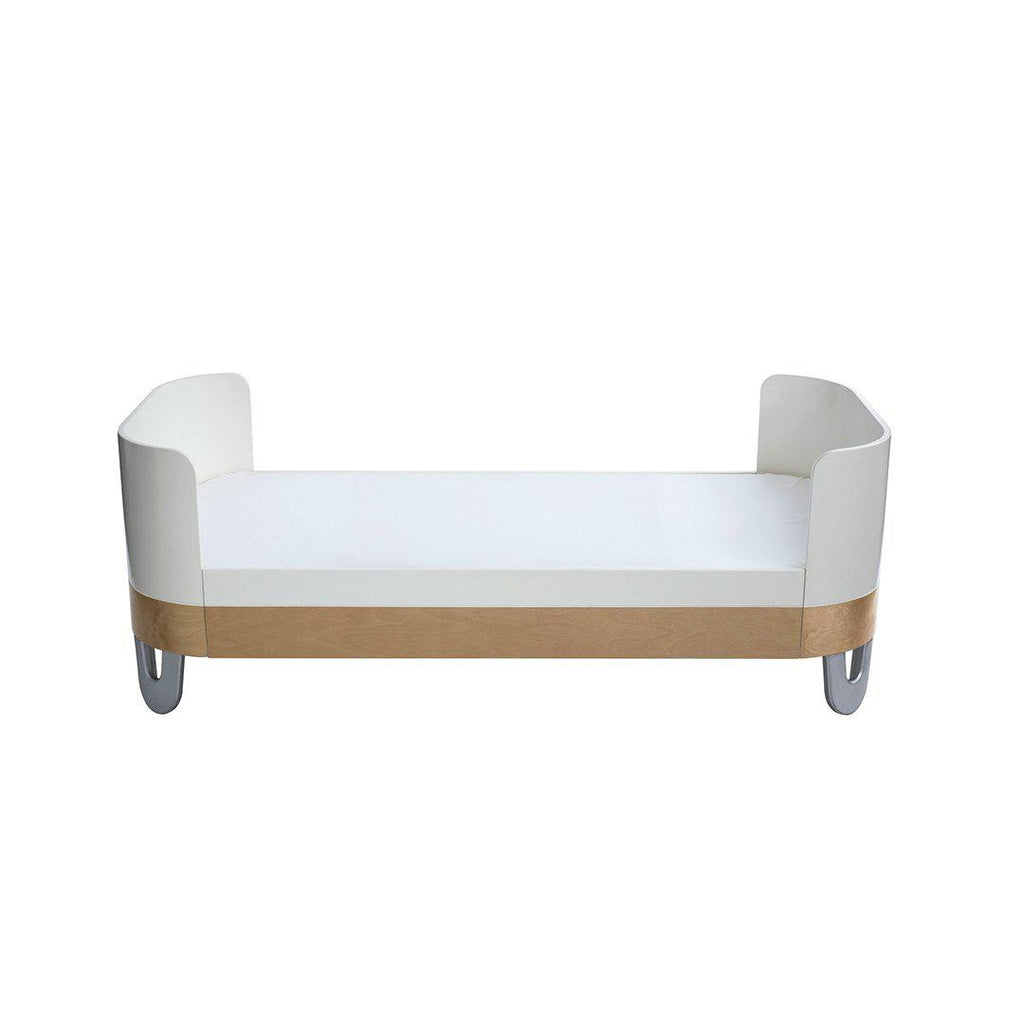Gaia Baby Junior Bed Extension - White/Natural 2