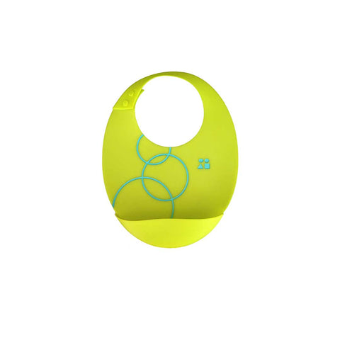 GoSili Bib - Lime-Bibs-Default- Natural Baby Shower