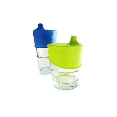 GoSili Silicone Sippy Top - 2 Pack-Cups & Straws-Default- Natural Baby Shower