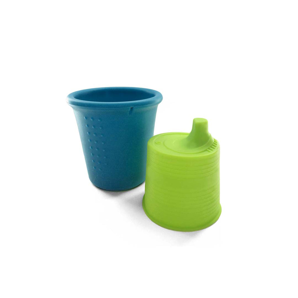 GoSili Siliskin Sippy Cup - Storm-Cups & Straws-Default- Natural Baby Shower