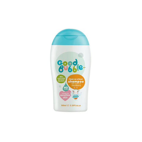 Good Bubble Clean as a Bean Shampoo with Cloudberry Extract - 100ml-Baby Skincare- Natural Baby Shower