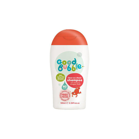 Good Bubble Clean as a Bean Shampoo with Dragon Fruit Extract - 100ml-Baby Skincare- Natural Baby Shower