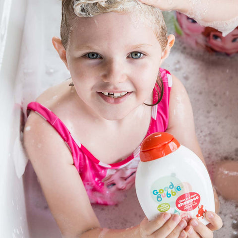 Good Bubble Clean as a Bean Shampoo with Dragon Fruit Extract - 250ml-Baby Skincare- Natural Baby Shower