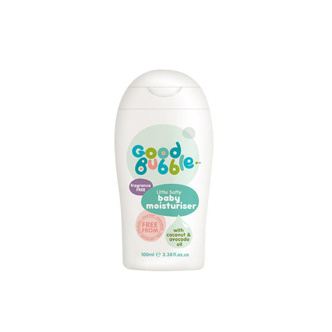 Good Bubble Little Softy Fragrance Free Baby Moisturiser - 100ml-Baby Skincare- Natural Baby Shower