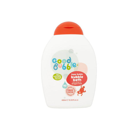 Good Bubble Super Bubbly Bubble Bath with Dragon Fruit Extract - 400ml-Baby Skincare- Natural Baby Shower