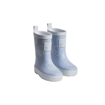 Grass & Air Colour-Revealing Wellies - Baby Blue-Wellies- Natural Baby Shower