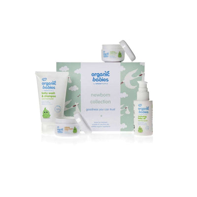 Green People Organic Babies Newborn Collection-Baby Skincare- Natural Baby Shower
