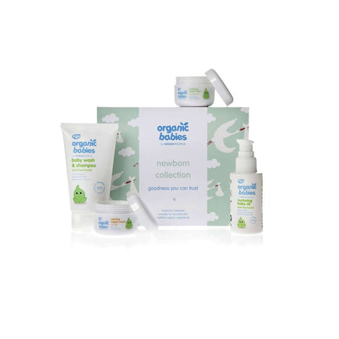 Green People Organic Babies Newborn Collection-Gift Sets- Natural Baby Shower