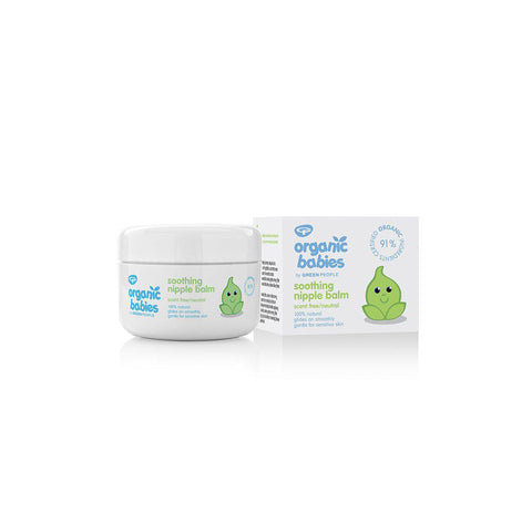 Green People Organic Babies Soothing Nipple Balm - 50ml-Balm & Salves- Natural Baby Shower