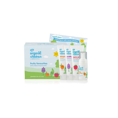 Green People Organic Children Fruity Favourites-Baby Skincare- Natural Baby Shower