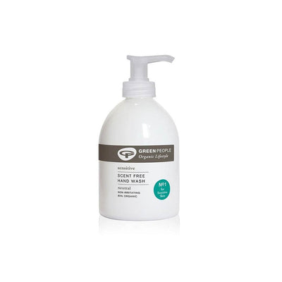 Green People Scent Free Hand Wash - 300ml-Bath & Wash- Natural Baby Shower