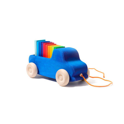 Grimms Pull Along Truck-Baby Walkers- Natural Baby Shower