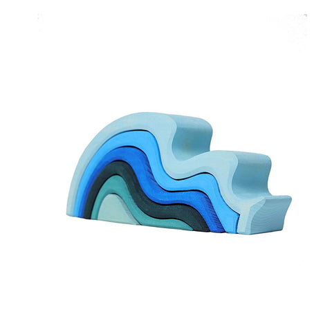 Grimms Waterwaves-Sorting & Stacking Toys- Natural Baby Shower