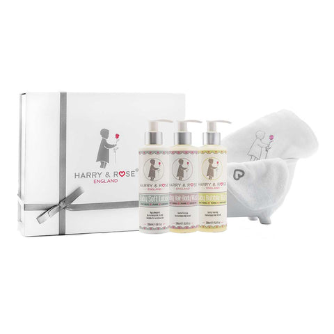 Harry & Rose Natural Baby Shower Gift Set-Gift Sets- Natural Baby Shower