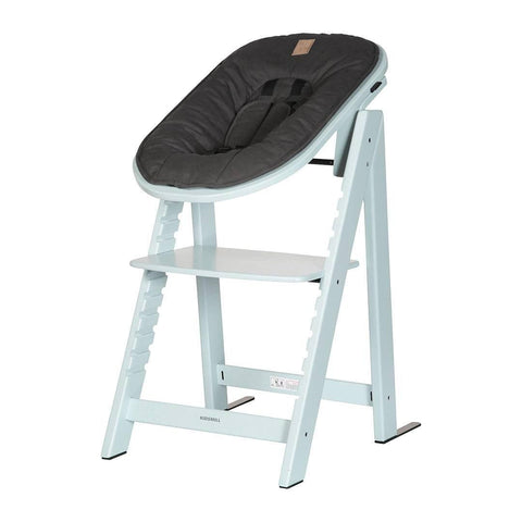 Kidsmill Highchair Up! + Bouncer Bundle - Soft Green + Anthracite