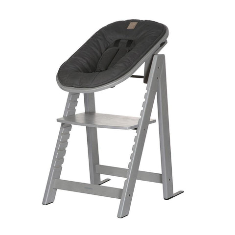 Kidsmill Highchair Up! + Bouncer Bundle - Grey Wash + Anthracite