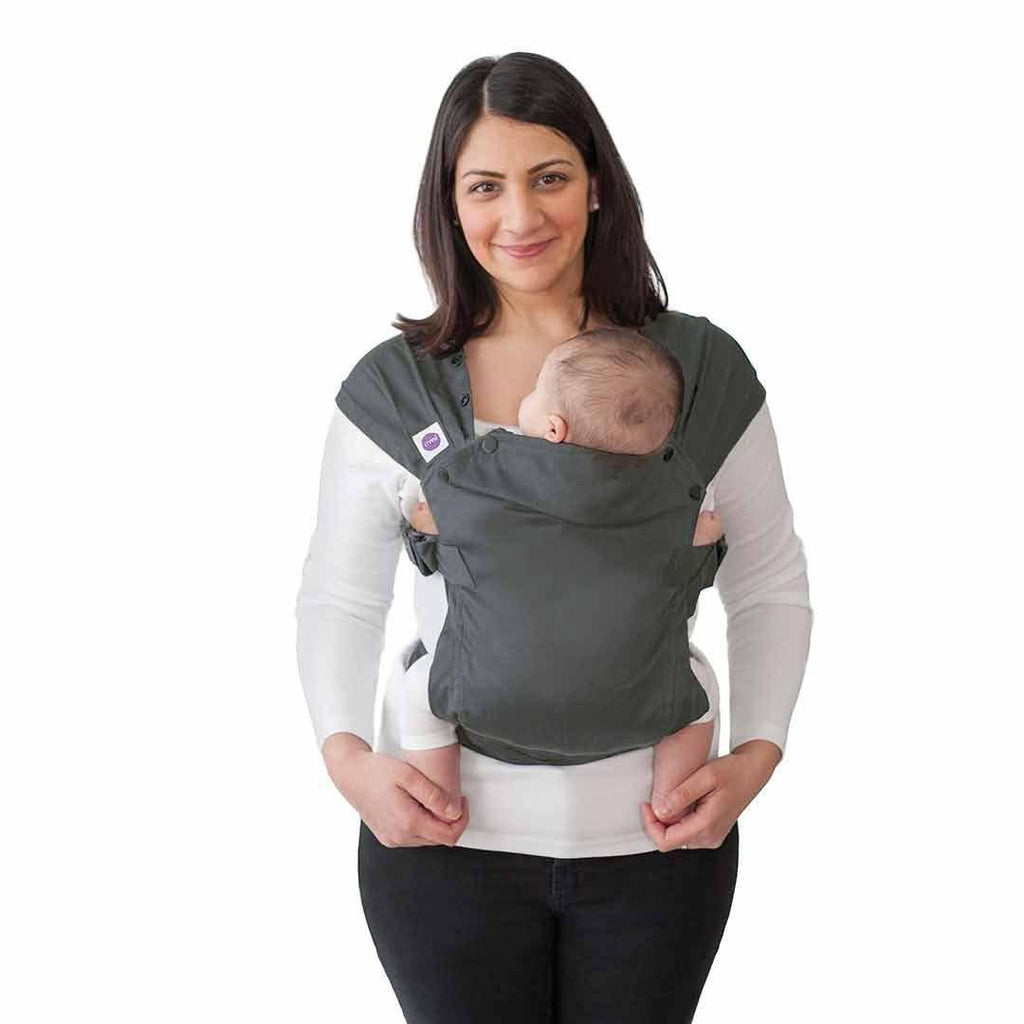 Izmi Baby Cotton Carrier - Mid Grey