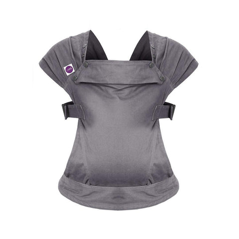 Izmi Baby Cotton Carrier - Mid Grey-Baby Carriers- Natural Baby Shower