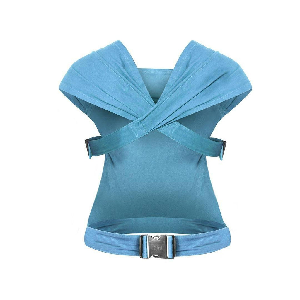 Izmi Baby Cotton Carrier - Teal-Baby Carriers- Natural Baby Shower