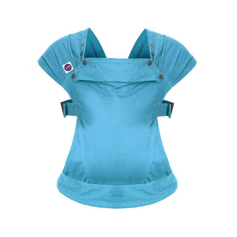 Izmi Baby Cotton Carrier - Teal Front