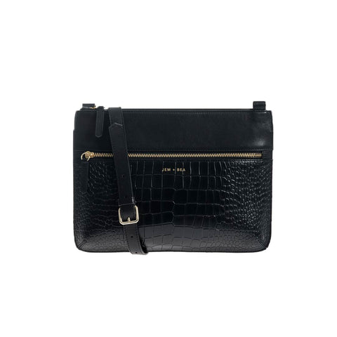 JEM + BEA Farah Crossbody Changing Bag - Black