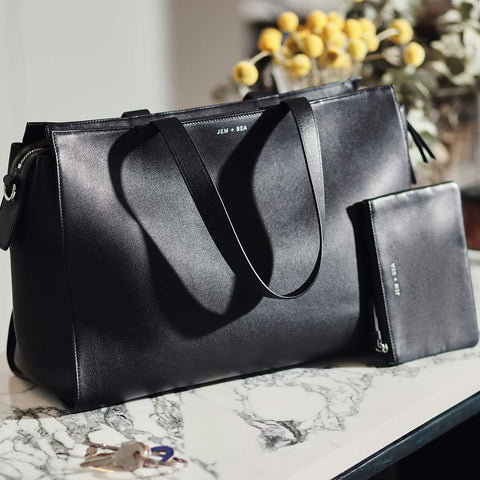 JEM + BEA Margot Changing Bag - Black 4