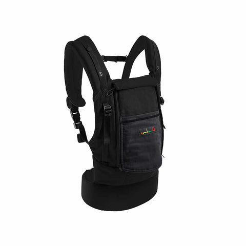 Je Porte Mon Bebe PhysioCarrier - Black/Charcoal-Baby Carriers- Natural Baby Shower