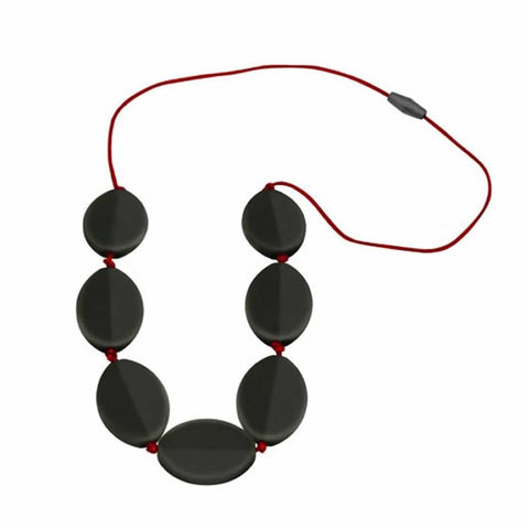 Jellystone Caru Necklace in Smokey Black