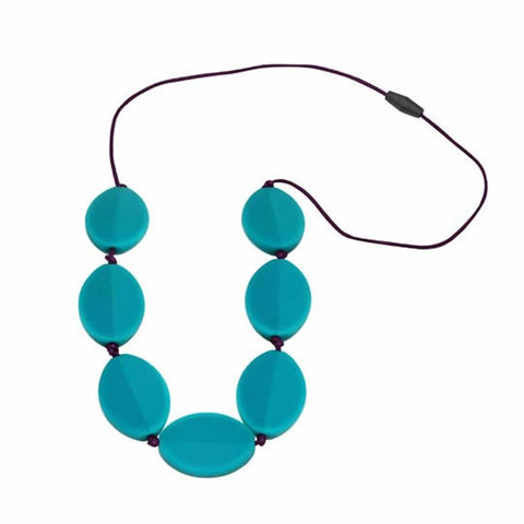 Jellystone Caru Necklace in Turquoise Baja
