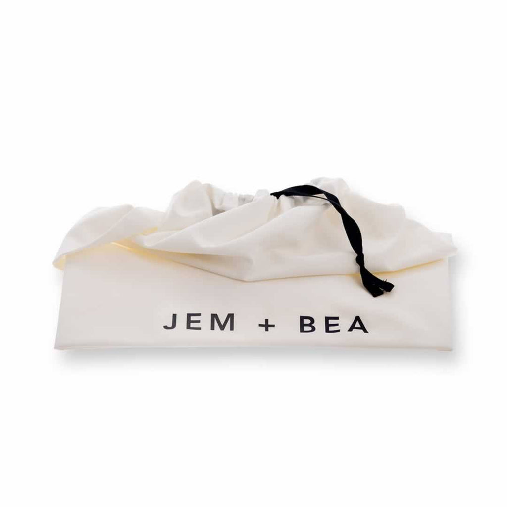 Jem + Bea Jemima Changing Bag Tan Dust Bag