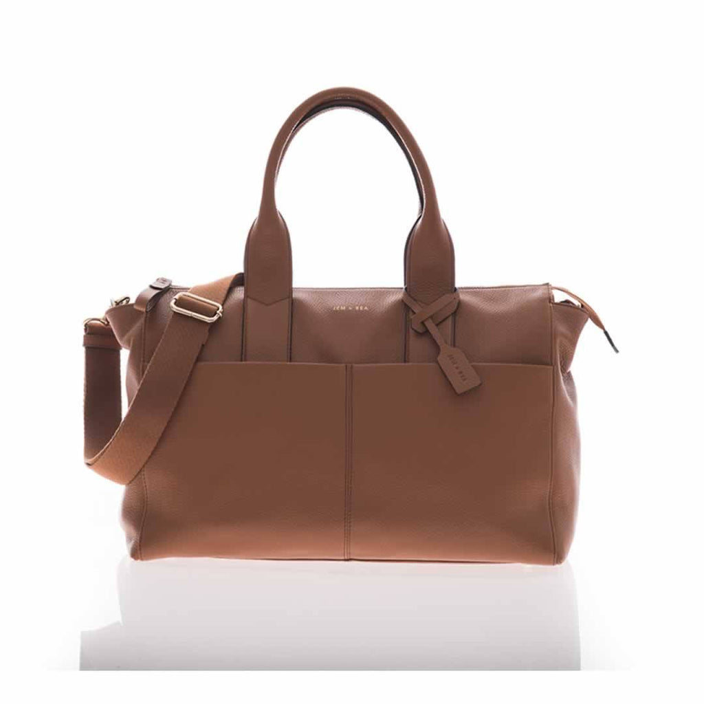 Jem + Bea Jemima Changing Bag in Tan