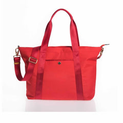 Jem + Bea Lola Changing Bag in Bright Red