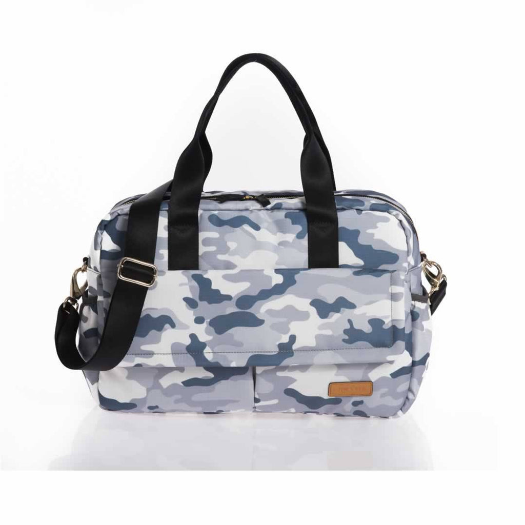 Jem + Bea Marlow Changing Bag in Pale Grey Camo